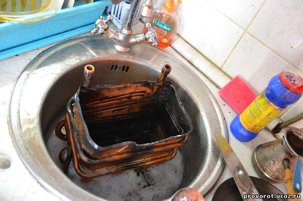 Как промыть колонку в домашних условиях